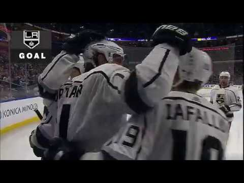 Anze Kopitar 2nd goal. Los Angeles Kings vs Buffalo Sabres 2/17/2018