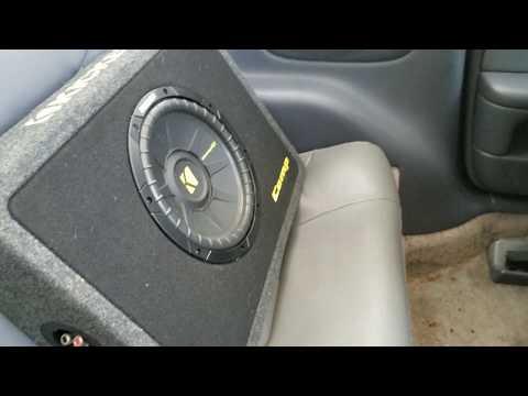 Ghetto Rigged Sub/amp Install in Car