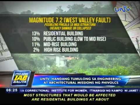 UNTV, handang tumulong sa engineering at architectural missions ng PHIVOLCS