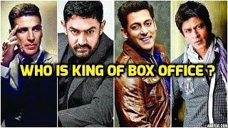 Aamir khan  , Salman khan , Shahrukh Khan & Akshay Kumar | Who is The King Of | BOX OFFICE |