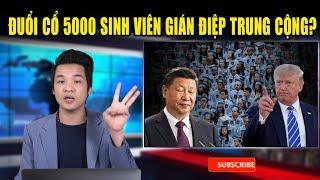Trừng phạt Trung Cộng-Mỹ sắp đuổi cổ 5000 sinh viên Trung Cộng về nước, liên quan luật an ninh HK?