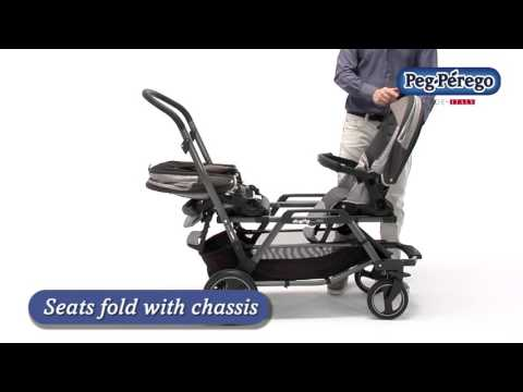 Versatile Double Stroller - Duette Piroet by Peg Perego