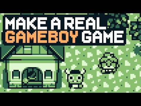 Make A Real GameBoy Game Easy & User Friendly [Tutorial, Gamedev]