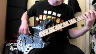 suck my kiss red hot chili peppers bass cover