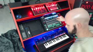 Roland AIRA and JD-Xi evil composition with BASS
