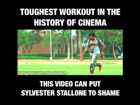 Toughest workout in the history of cinema!