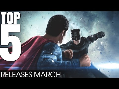 Top 5 Movie Releases March 2016 - What are you going to watch? Batman v Superman [HD]