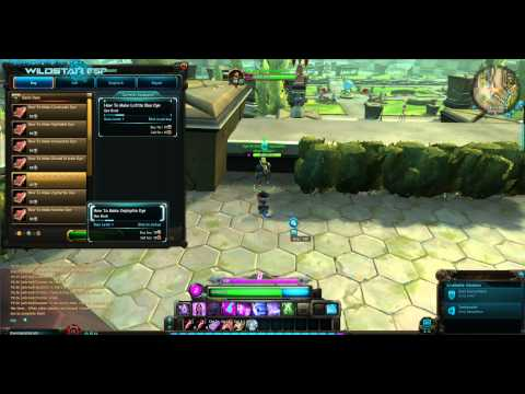 Wildstar Dye NPC vendor at Illium ~ Dominion Capital City (beta client)