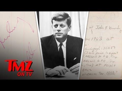 JFK's Last Autograph 2 Hours Before Assassination Hits Auction Block   TMZ TV