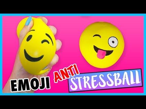 Diy Emoji Anti Stressball Schleim Mehl Anleitung Zum