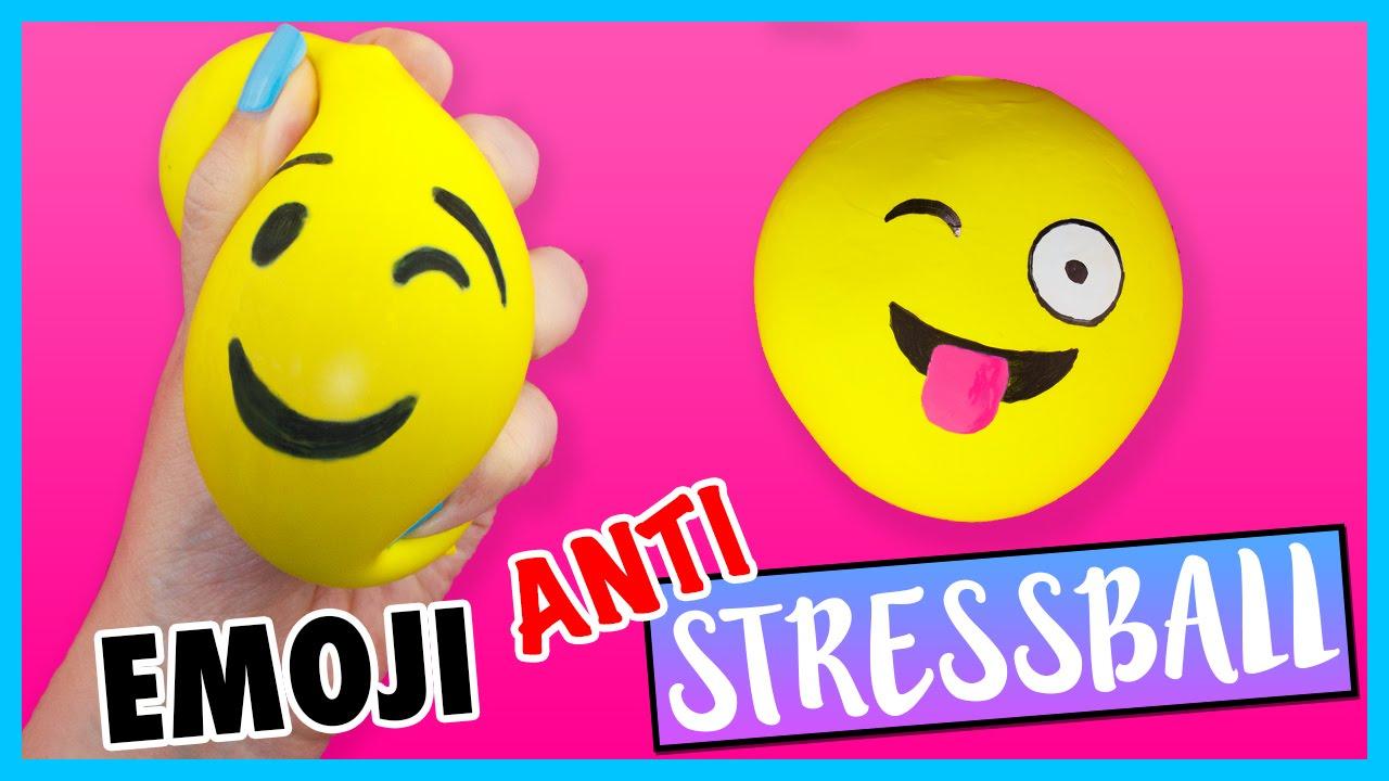 Diy Emoji Anti Stressball Schleim Mehl Anleitung Zum Selber