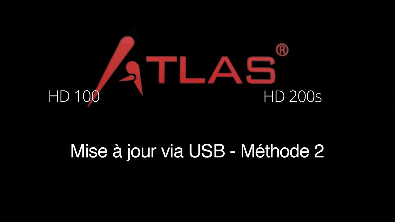 tuto mise jour atlas hd100 et hd200s via usb m thode 2 youtube. Black Bedroom Furniture Sets. Home Design Ideas
