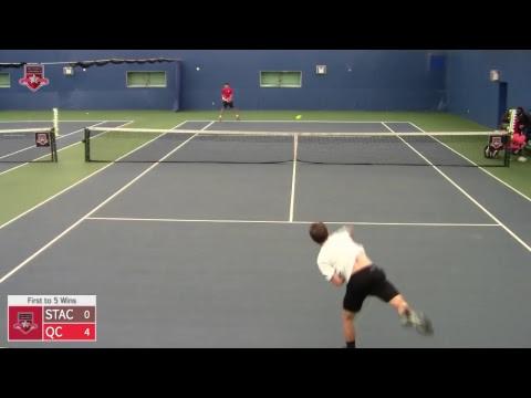 ECC Men's Tennis Championship Semifinal - St. Thomas Aquinas vs. Queens