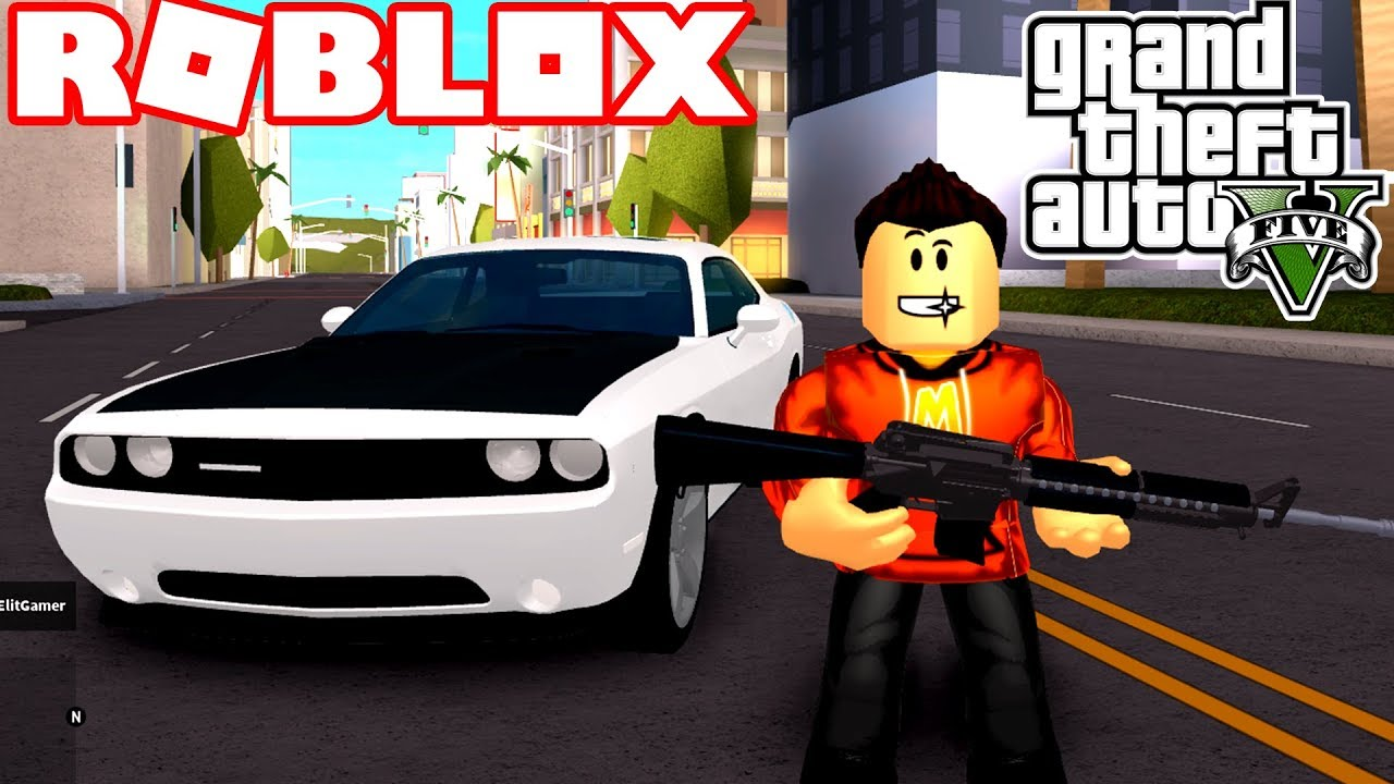 Playing Grand Theft Auto 5 Best Game On Roblox Youtube