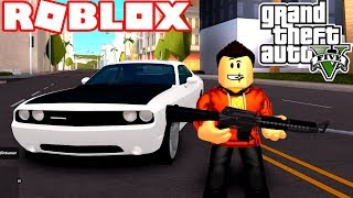 PLAYING GRAND THEFT AUTO 5! *BEST GAME ON ROBLOX*