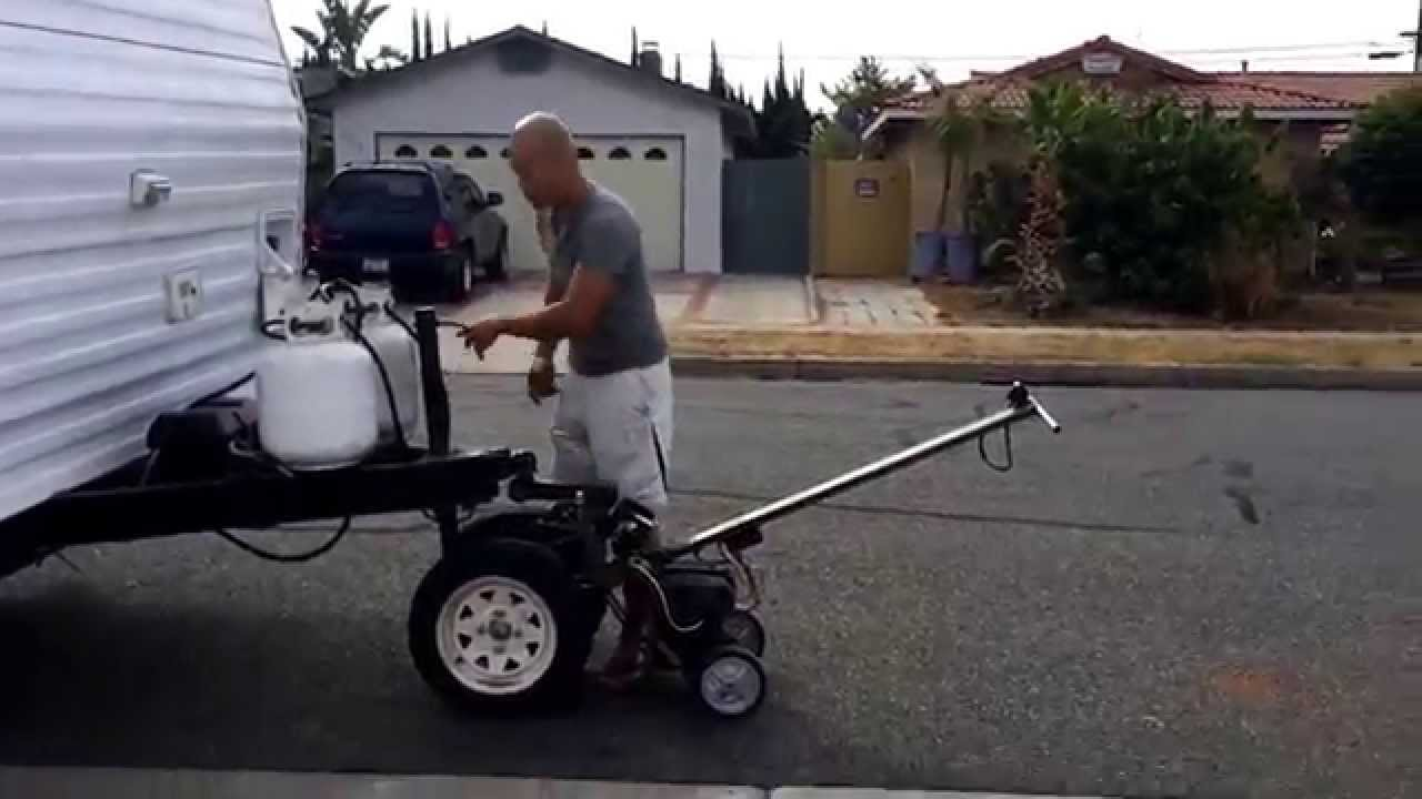 Dyi Trailer Mover For The First Time - Youtube-2366