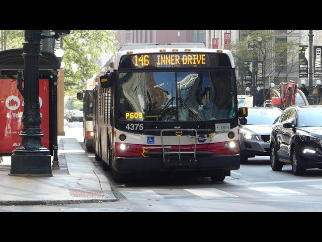 CTA Bus: New Flyer DE60LF NIS #4009 & New Flyer D40LF Routes