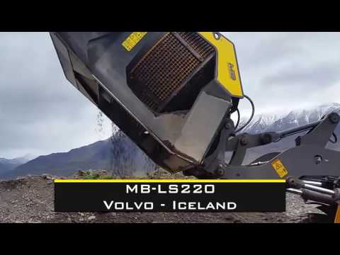 Screening with the new MB-LS220 in the extreme borders of Iceland!