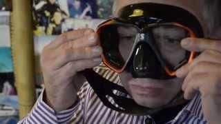 Смотреть видео tusa маска для подводного плавания