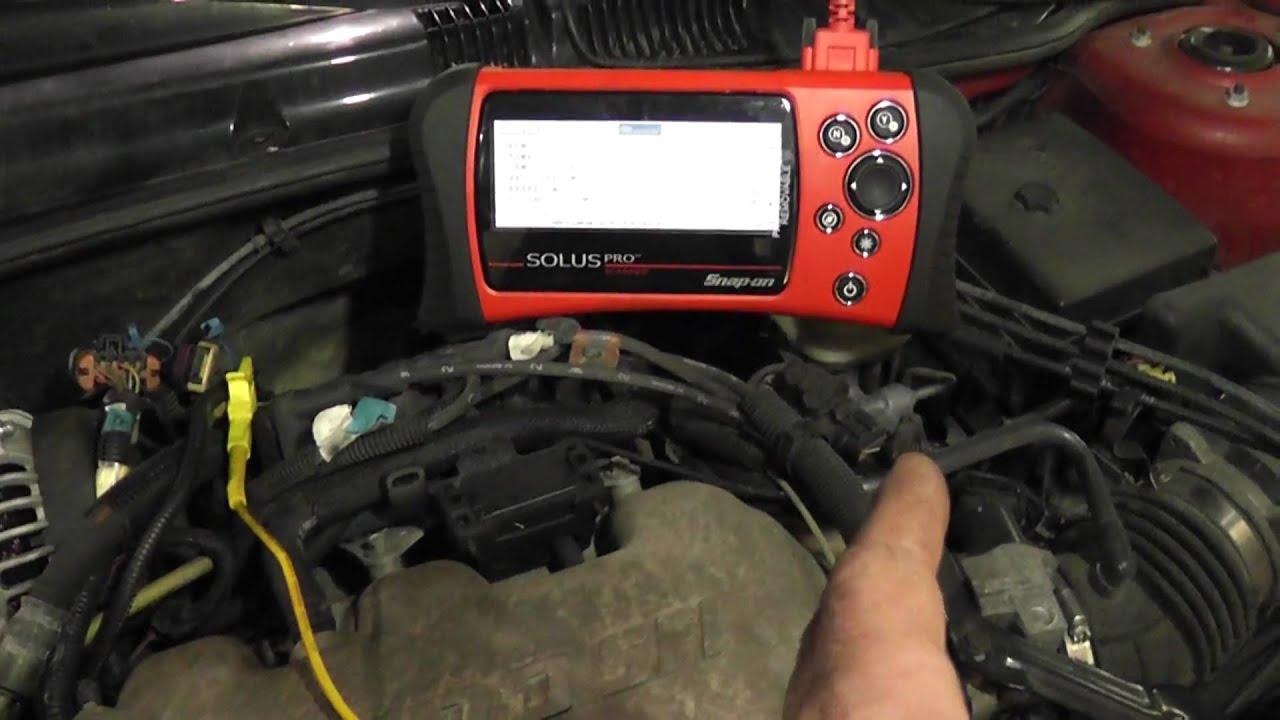 camshaft position sensor circuit quick test [ 1280 x 720 Pixel ]