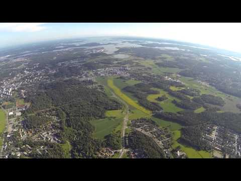 Raisio,Turku,Finland from 1000m. DJI Phantom 2
