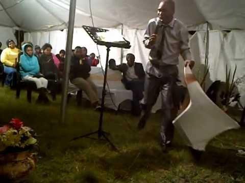 Pastor Rhoda with Latter Days Movement at Mdantsane NU9 hosted by Apostle Nyeleka
