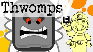 """Tips, Tricks and Ideas with Thwomps in Super Mario Maker or """"The Mushroom Kingdom Elections #1/2"""""""