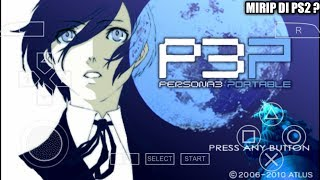Cara Download Game Shin Megami Tensei Persona 3 Portable PPSSPP Android