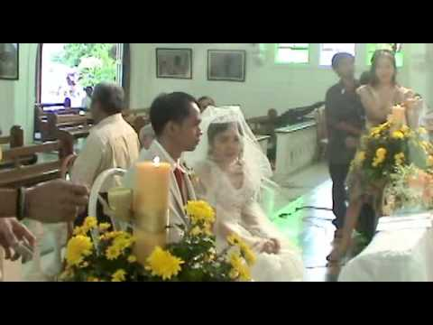 Wedding Ceremony, Part III: Candle, Veil, Cord & Offertory - Redemptorist  Church (Cebu Philippines)