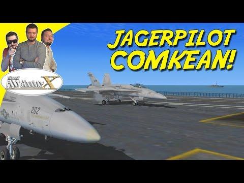 JAGERPILOT COMKEAN! - Microsoft Flight Simulator X Dansk (FSX)