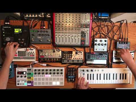 Volca Minimal House & Deep Techno Jam (2019-10-12 Part I)