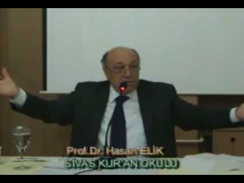 Prof  Dr  Hasan Elik'ten Bakara süresi 62  ayet yorumu