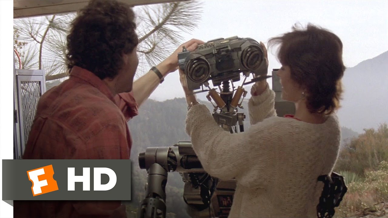 short circuit 8 8 movie clip number 5 is still alive 1986 hd rh youtube com