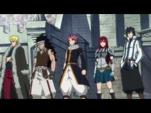 Fairy Tail AMV Circus for a psycho