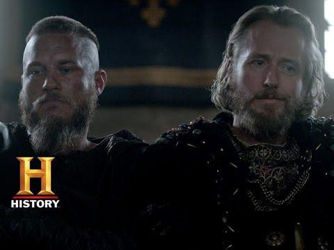 Vikings: Ragnar and Ecbert Talk Strategy (Season 3, Episode 4) | History
