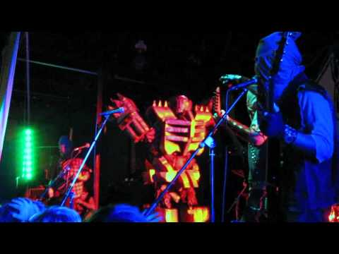 "Ghoul: ""Rise, Killbot, Rise! / Destructor"" - (live) @ Oakland Metro Operahouse - 10.1.2011"