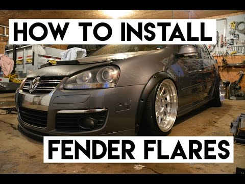 How to install fender flare - Mk5 vw Gti - @ricky.df