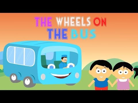 The Wheels on the Bus • Bahasa Indonesia + lirik