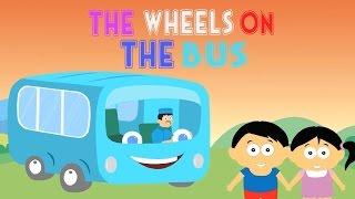 The Wheels on the Bus • Bahasa Indonesia + lirik