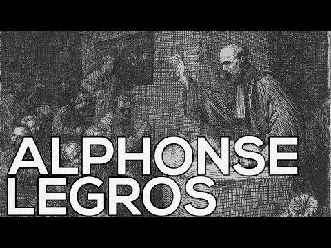 Alphonse Legros: A collection of 302 etchings (HD)