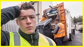 I Spent a Day with a Garbage Man