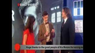 Doctor Who arrives at Red Nose Day 2011