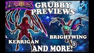Grubby | Heroes of the Storm - Grubby Previews - Patch Note - Kerrigan & Brightwing Rework