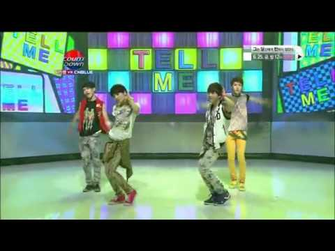 Infinite Dance Tell Me (by Wonder Girls) & Gee (by Girls Generation)