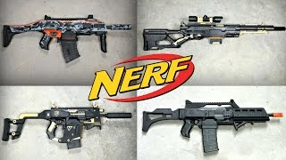 NEW CUSTOM NERF GUNS!!