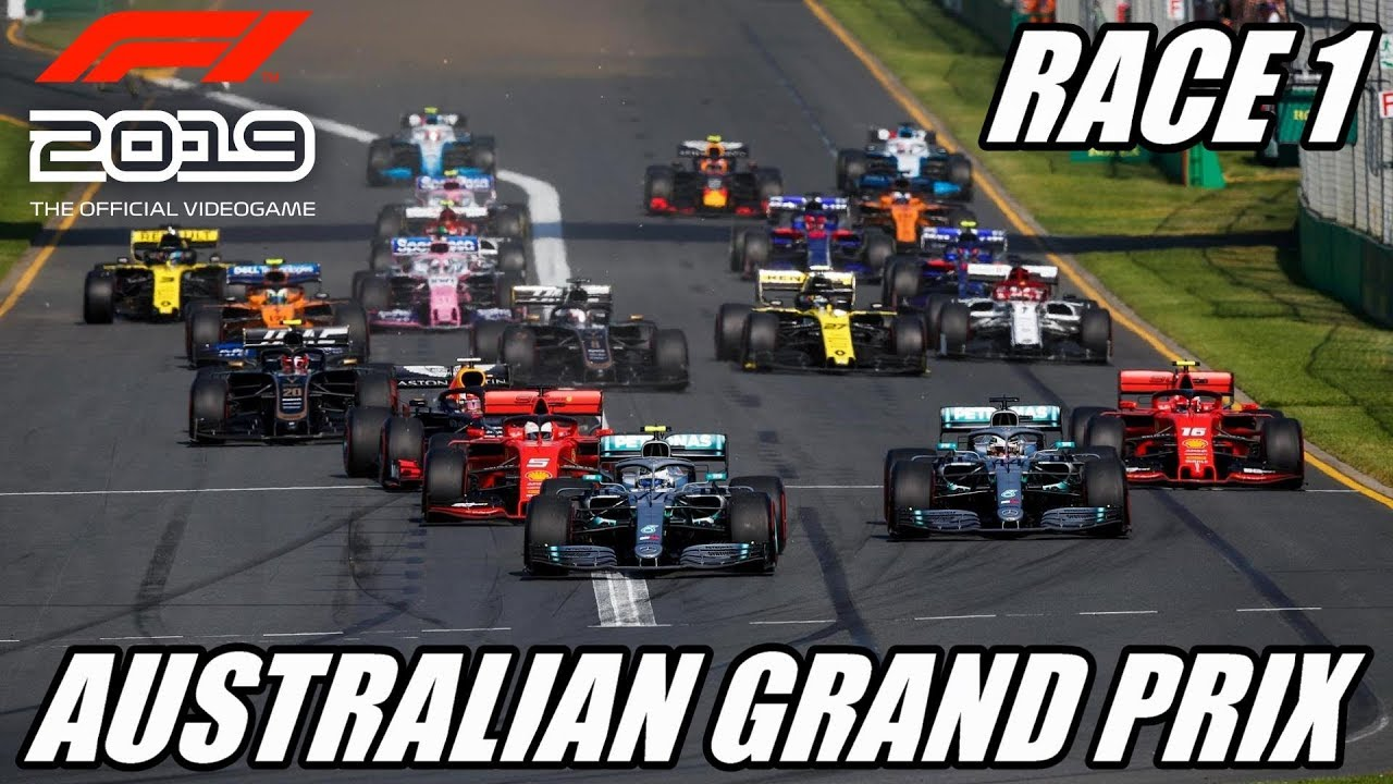 AUSTRALIAN GRAND PRIX | Let's Play F1 2019 | Championship | Race 1