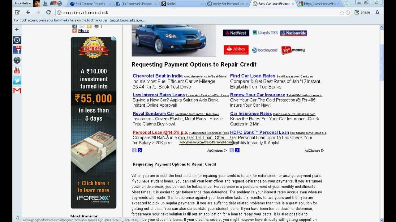 Car Finance Calculator Cheapest Interest Rates Youtube