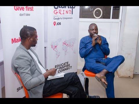 Startup Grind Jos Fireside Chat with Murtala Abdullahi, CEO Smartweb Nig. Ltd.