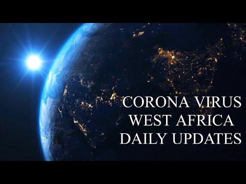 CORONA VIRUS, WEST AFRICA DAILY UPDATE