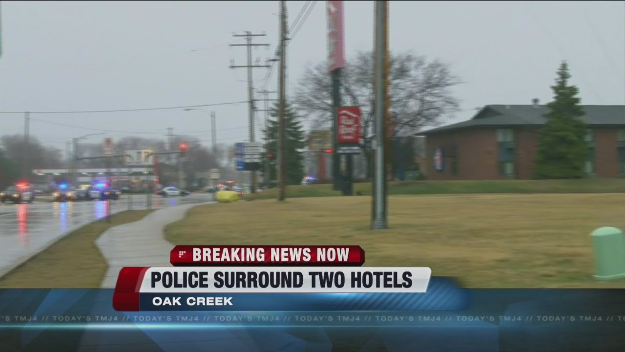 Police Surround 2 Hotels In Oak Creek For Hours